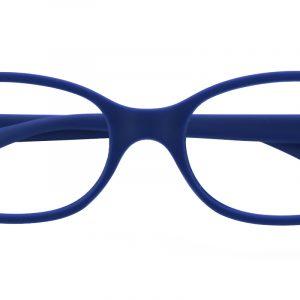 Kid's Oval Eyeglasses Full Frame TR90 Blue - FP1590