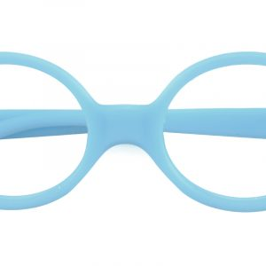 Kid's Oval Eyeglasses Full Frame TR90 Blue - FP1708