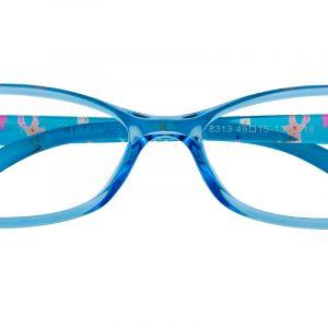 Kid's Oval Eyeglasses Full Frame TR90 Blue - FP1854