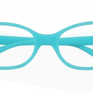 Kid's Oval Eyeglasses Full Frame TR90 Green - FP1591