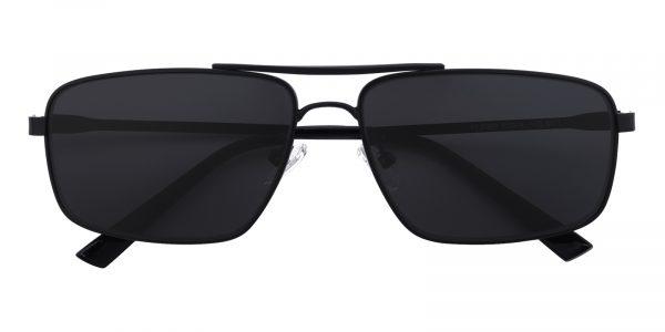 Men's Aviator Sunglasses Full Frame Metal Black - SUP0511