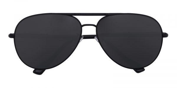 Men's Aviator Sunglasses Full Frame Metal Black - SUP0513