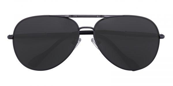 Men's Aviator Sunglasses Full Frame Metal Gunmetal - SUP0509