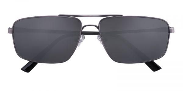 Men's Aviator Sunglasses Full Frame Metal Gunmetal - SUP0512