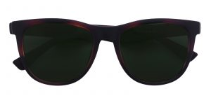 Unisex Classic Wayframe Sunglasses Full Frame TR90 Brown - SUP0507
